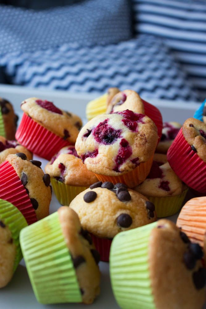Tízórai tippek Erdei gyümölcsös muffin