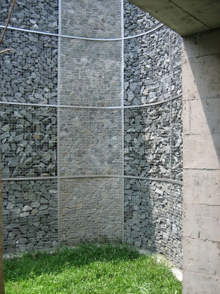 223 best images about gabion on pinterest rocks rock Gabion wall design