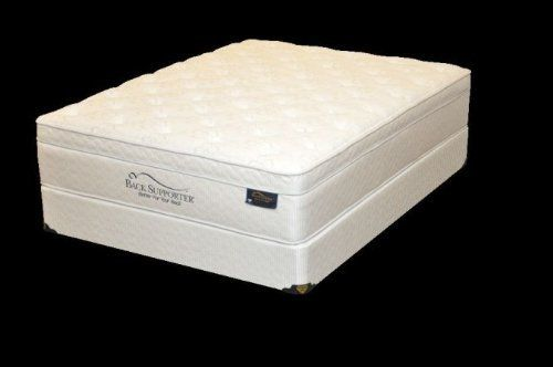 Spring Air 1807 46S Back Supporter Hannah Full Size Mattress and Foundation Set by Spring Air. $951.75. Size: Full.. Collection: Hannah.. Length: 74.. Type: Euro Top.Dimensions:. Width: 53.. Spring Air Back Supporter Hannah Full Size Set. Collection: Hannah. Size: Full. Type: Euro Top. Dimensions:. Length: 74. Width: 53. Height: 22. Softness Level: 8. Tri-Zone Wood Foundation for more support in the middle. Proven to support over 3000 pounds. Foam Encased Wirele...