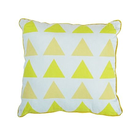 Elemis Cushion Ombre Triangle Yellow