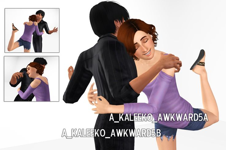 Mod The Sims - Awkward Moments - A Pose Pack