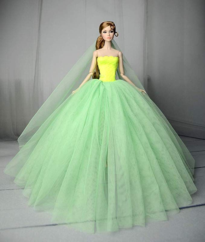 Beautiful Fashion Clothes Dress for Doll f56fdfcfab9d