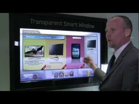 Janela interativa digital. E você achando que o futuro só amanhã.