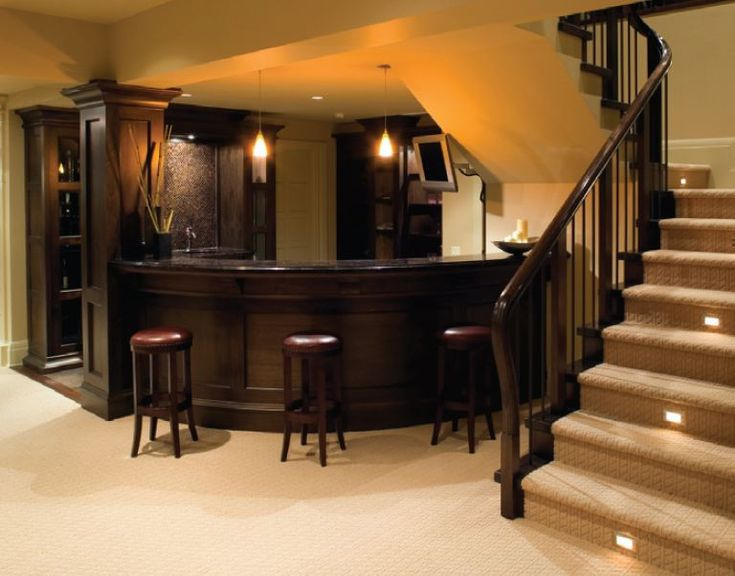 Classy basement kitchen/bar design   Building My Dream ...