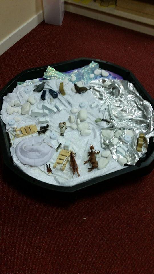 Arctic tuff spot tray #twinkl