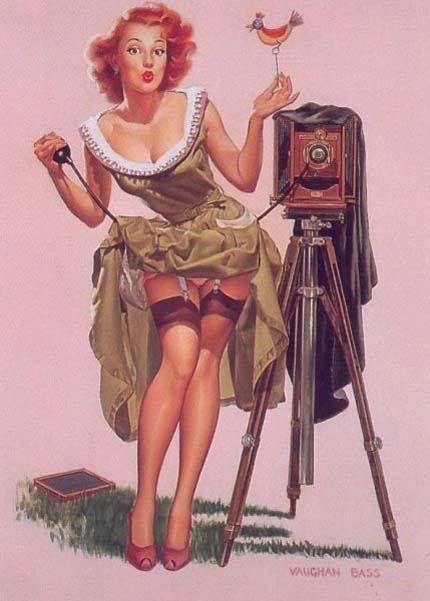 Pin-up – A Garota do Calendário « Imagens & Letras