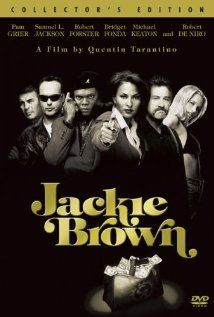 Jackie Brown:  A female flight attendant becomes a key figure in a plot between the police and an arms dealer.  (1997)