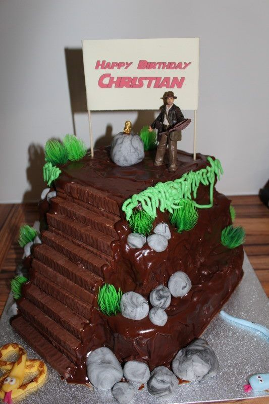 110 best images about cakes indiana jones on pinterest lost birthday cakes and indiana jones - Indiana jones party decorations ...