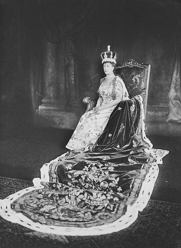HM THE QUEEN MARY OF THE UNITED KINGDOM OF GREAT BRITAIN AND NORTHERN IRELAND EMPRESS OF INDIA