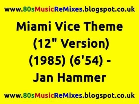 "Miami Vice Theme (12"" Version) - Jan Hammer | Francois Kevorkian | 80s C..."