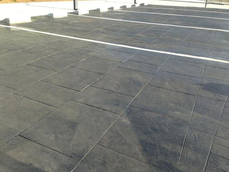 Las 25 mejores ideas sobre pavimento impreso en pinterest - Hormigon decorativo para suelos ...