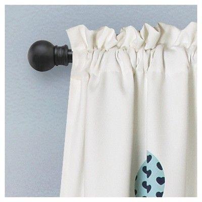 "Flying Balloon Room Darkening Window Curtain Set Blue (52""X84"") - Lush Dcor"