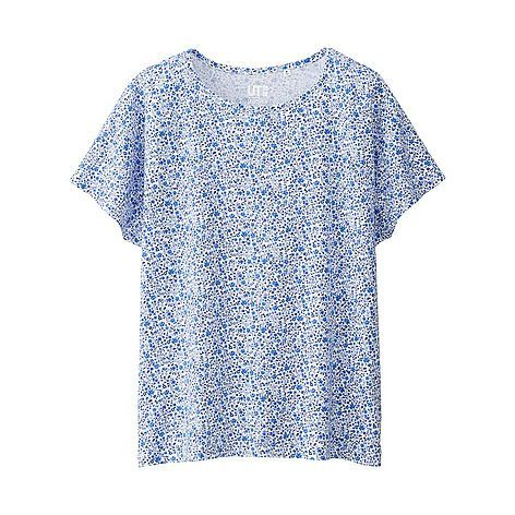 WOMEN LIBERTY LONDON for UNIQLO Short Sleeve Graphic T-Shirt