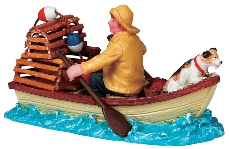 Lobsterman at Sea