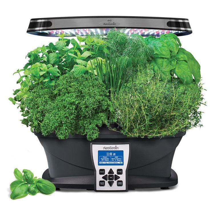 Aerogarden Ultra Led With Gourmet Herb Seed Pod Kit 640 x 480