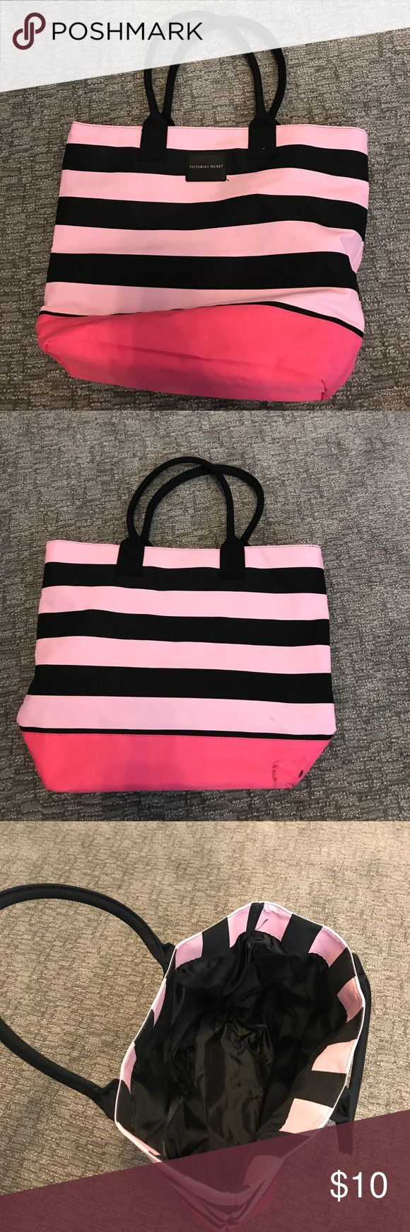 Victorious Secret Tote Bag It carries more than you think! Comfortable handles and cute pattern! PINK Victoria's Secret Bags Totes