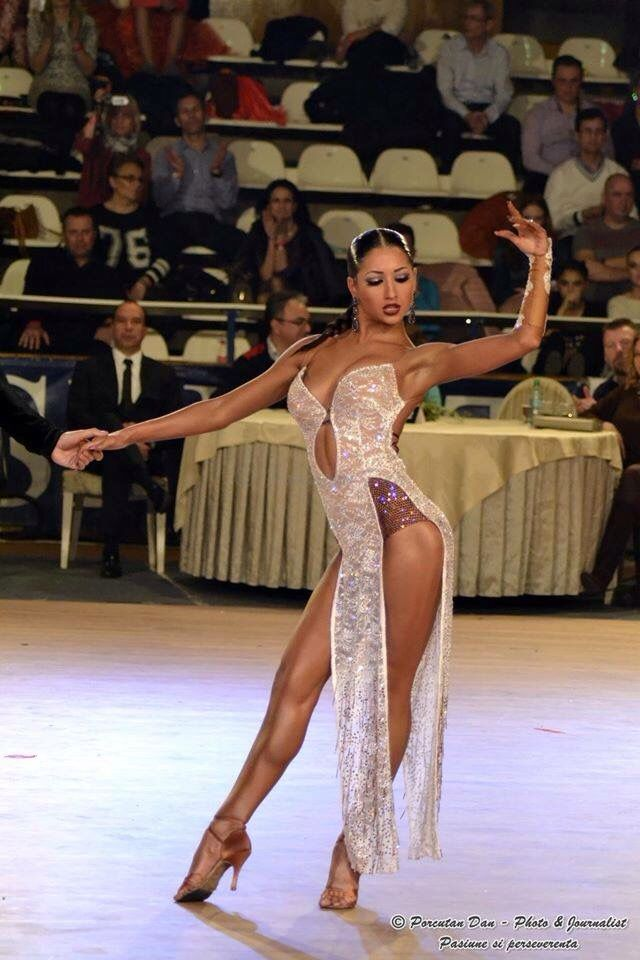 Ballroom dance fashion page