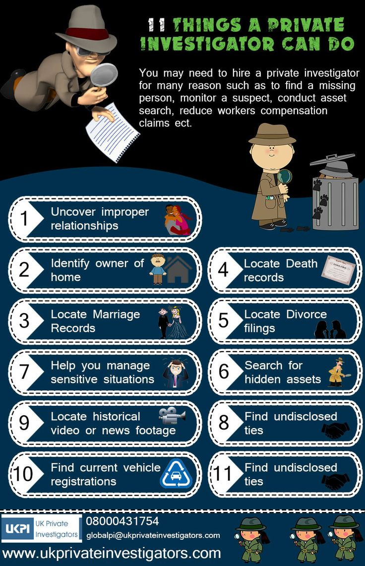 11 Things a Private Investigator Can Do Private