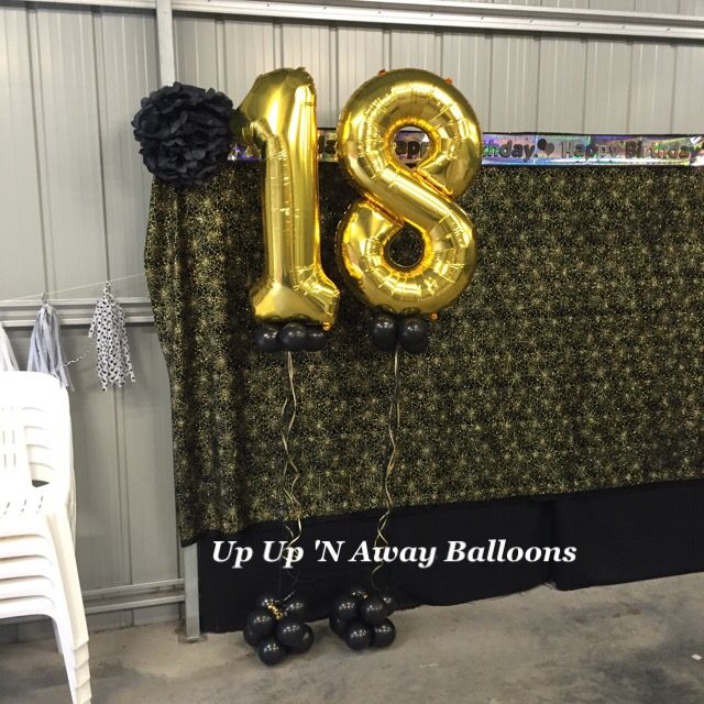 Gigantic Foil Numbers with Bubble Balloons underneath. Very popular with all ages and available in a range of colours. #giganticnumbers #specialbirthday