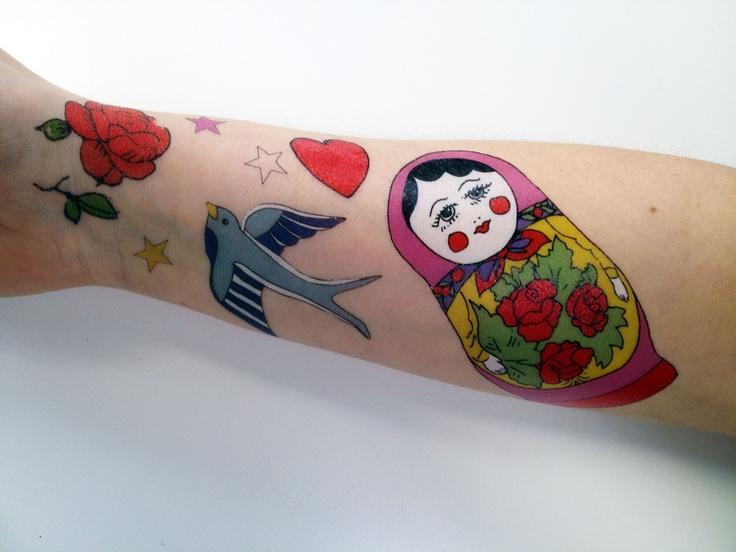 Temporary Tattoos!