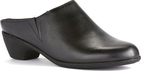 Walking Cradles Women's Cane Black Soft Tumbled Leather Clog/Mule 7 N (A) * Continue to the product at the image link.