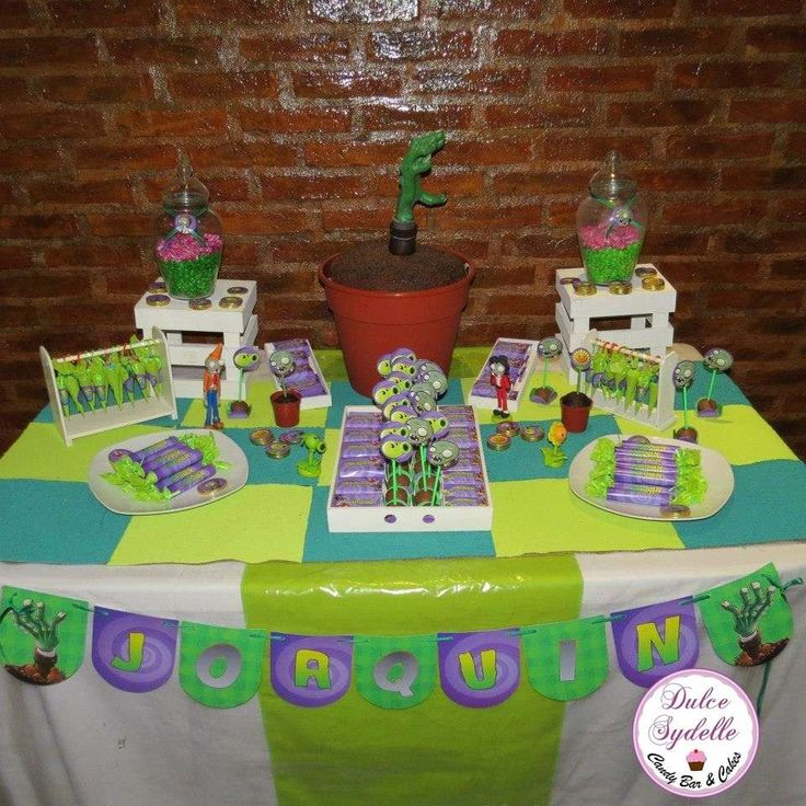Plants vs. Zombies Birthday Party Ideas | Photo 1 of 14