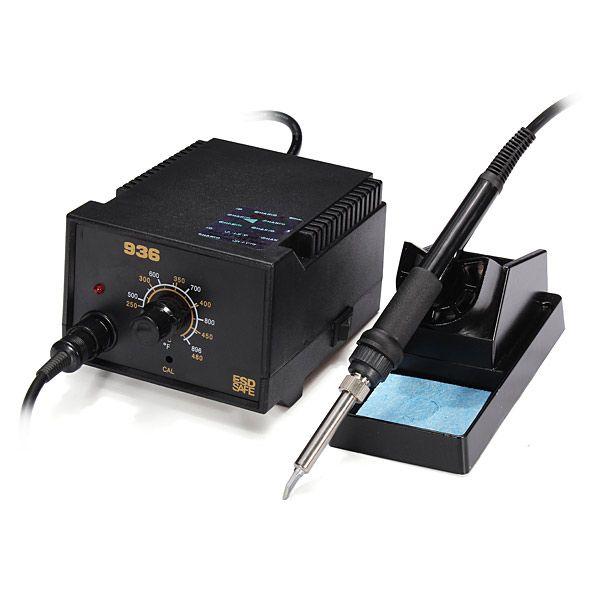 Alta calidad enchufe 220v au Seguridad ESD kit de estación de soldadura 936