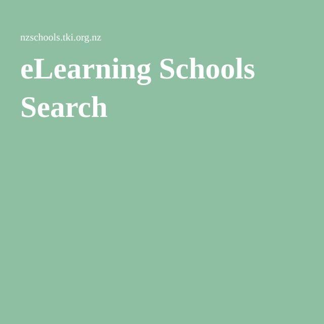 eLearning Schools Search