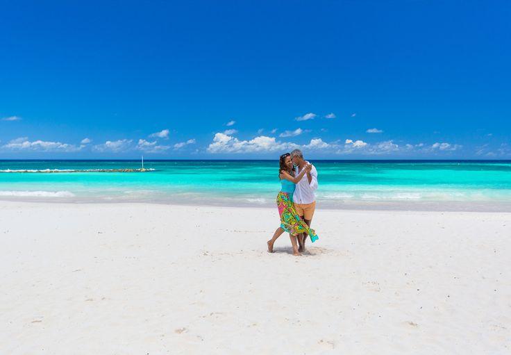 Stroll Hand In Along The Pristine White Sand Dover Beach Sandals Beachbarbados Resortsbeach
