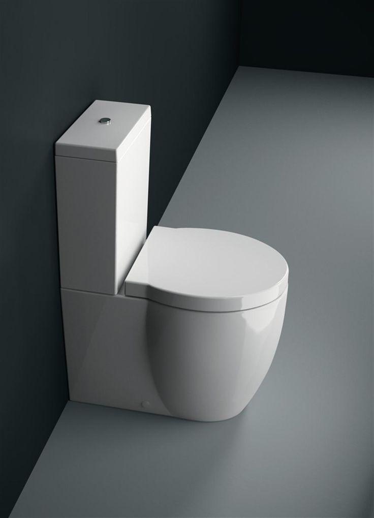 Panorama wc e bidet 65x37 661511 cassetta esterna in - Ceramica bagno moderno ...