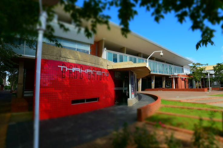 University of the Free State, Bloemfontein Campus, Thakaneng bridge (Photo: Charl Devenish)