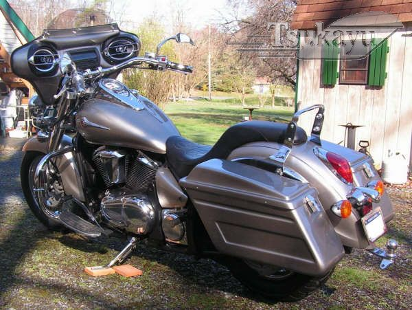 Tsukayu Fairing Hard Saddlebags And Touring Trunk Touring Hard Saddlebags Saddlebags