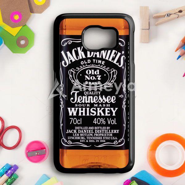 Jack Daniels Black Label Samsung Galaxy S6 Edge Plus Case | armeyla.com