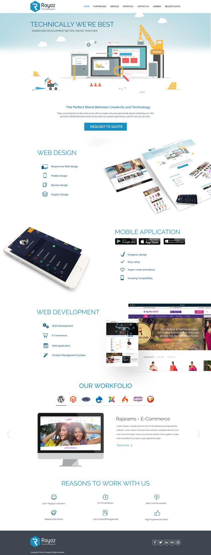 professional web solutions like web hosting, website designing, web application development.
