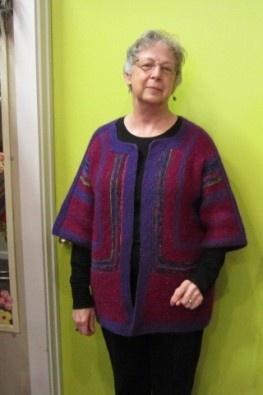 Adult Surprise Class-Elizabeth Zimmerman,baby,surprise,jacket,adult,knit,class,instructions,knitting