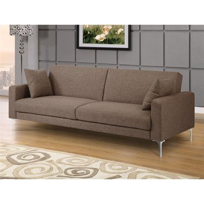 Domus Vita Design S Preshiela Convertible Sofa At Lowe Canada Find Our Selection Of Futons The Lowest Price Guaranteed With Match Off