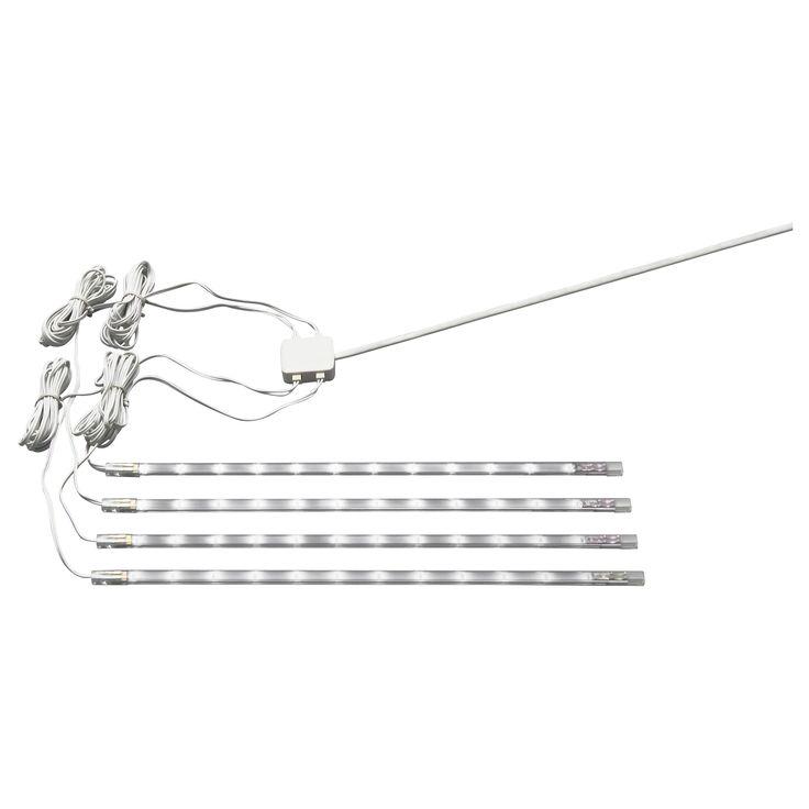 DIODER LED 4-piece lighting strip set - IKEA £20