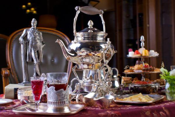 typisch russisch samowar tee teesorten russischer tee