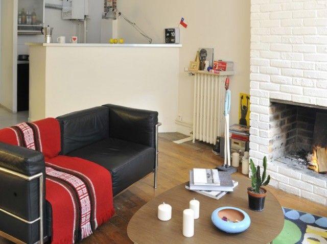 17 best images about am nager un petit apart ou un studio on pinterest kitchen dining rooms. Black Bedroom Furniture Sets. Home Design Ideas