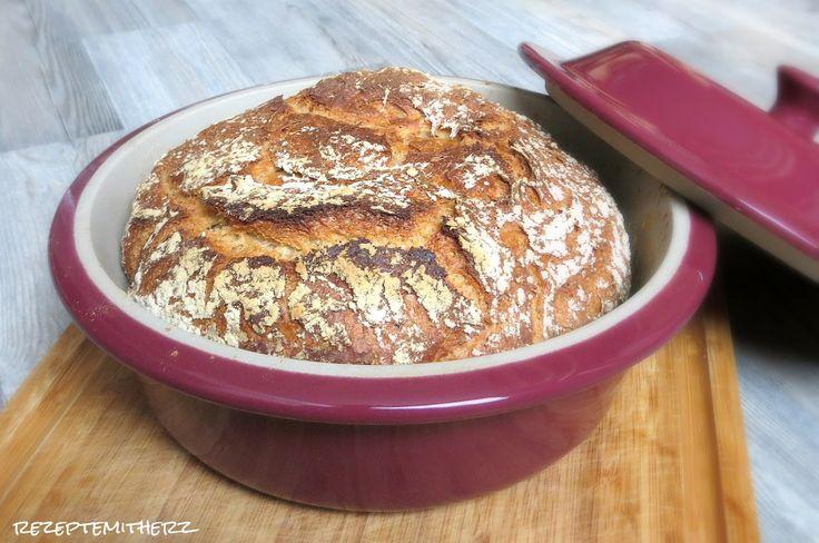 Rezepte mit Herz ?: Kleines Landbrot ?                                                                                                                                                                   (Best Baking Bread)