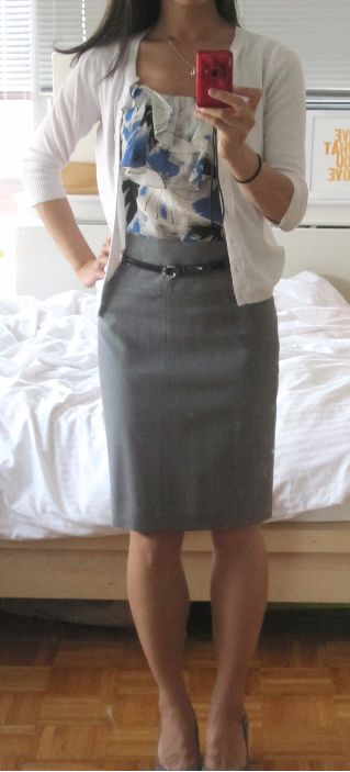 1000 Ideas About Gray Pencil Skirts On Pinterest Grey Pencil Skirt Outfit Posts And Pencil