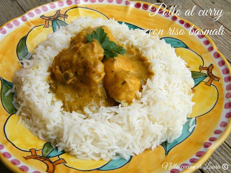 pollo al curry con riso basmati - nella cucina di laura