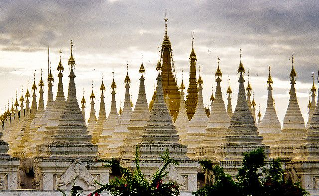 Pagode de Kuthodaw (Mandalay, Birmanie)