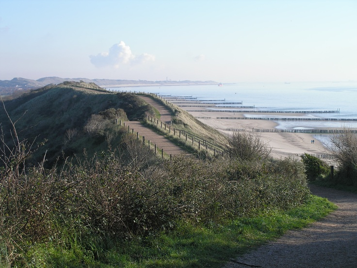 Zoutelande at Zeeland has the highest dunes of The Netherlands and you can see big ships pass near the coast - great for kids