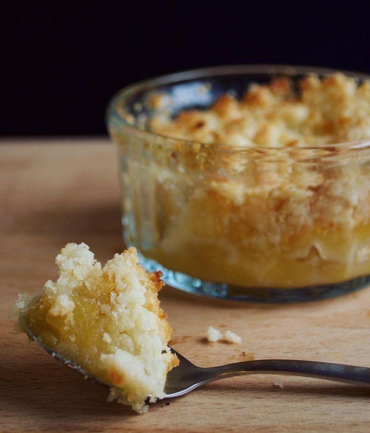 Une délicieuse recette de crumble aux pommes sans gluten et sans lait !