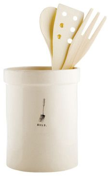 Hold Utensil Holder - rustic - Kitchen Products - The City Farm