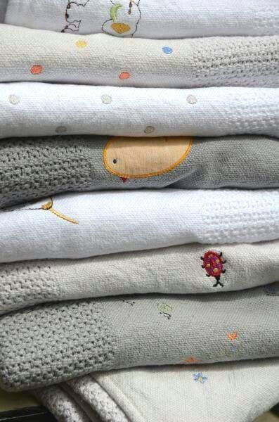 Wrap your baby up this weekend in a soft, cuddly, cotton blanket by Nocturnal Affair.