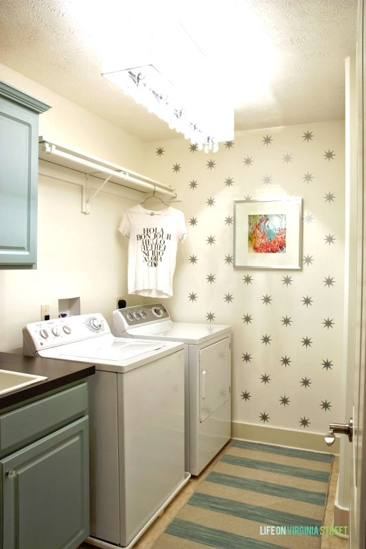 a year of change laundry room reveal