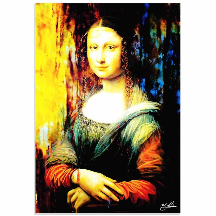 Populaire Mark Lewis 'Mona Lisa Ageless Charm' Limited Edition Pop Art Print  PK82