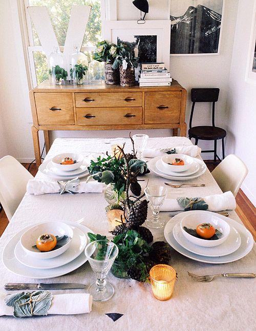 my thanksgiving table on design*sponge